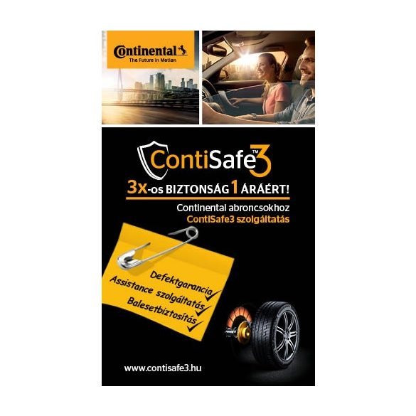 "ContiSafe3 TM    15""   Continental gumigarancia biztosítás ID68110"