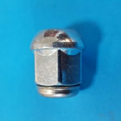 12x1.5 Bimecc rádiuszos zárt / inox L 27mm 19-es fejű kerék anya ID56444