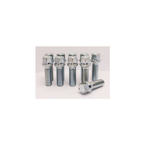 12x1.5 Bimecc rádiuszos  L 35mm 17-es fejű kerék csavar ID5071